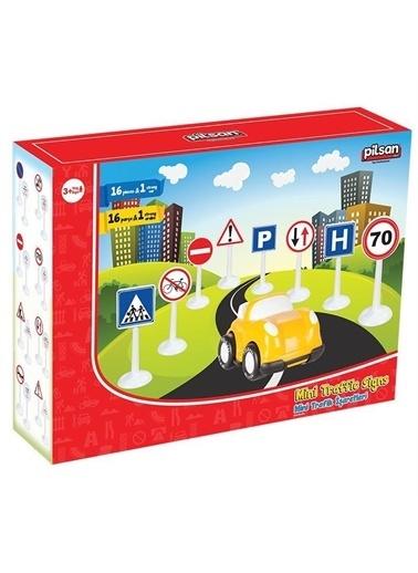 Pilsan  Minyatür Trafik Işaretleri 03-273 Renkli